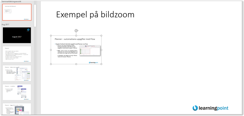 2018-02-12 10_17_50-Nytt i Office 365 tom sep 2017.pptx - PowerPoint