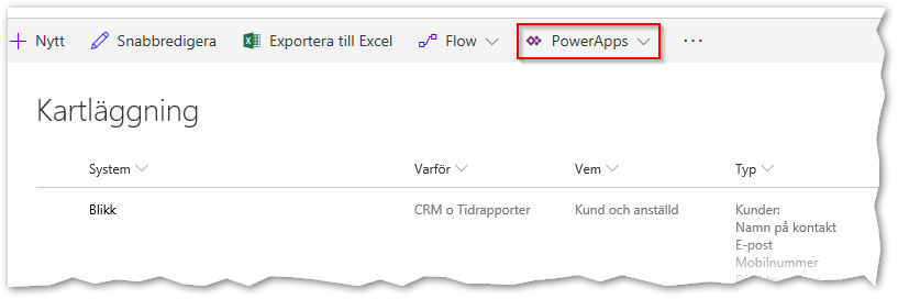 Learningpoint - PowerApps